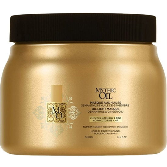 Picture of L'Oréal Professionnel Mythic Oil mask for normal to fine hair 500 ml