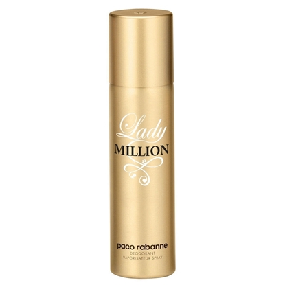 Foto e Paco Rabanne Lady Million Deodorant Spray for Woman 150 ml