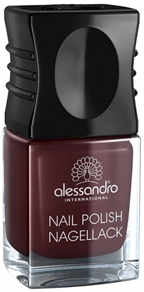 Picture of Alessandro NAIL POLISH SHINY AUBERGINE COLOR SMALT 5 ML
