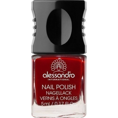 Picture of Alessandro NAIL POLISH VELVET RED COLOR SMALT 5 ML