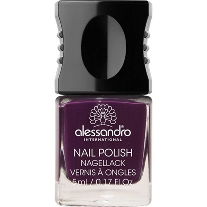 Picture of Alessandro NAIL POLISH DARK VIOLET COLOR SMALT 5 ML