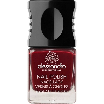 Picture of Alessandro NAIL POLISH MIDNIGHT RED COLOR SMALT 5 ML
