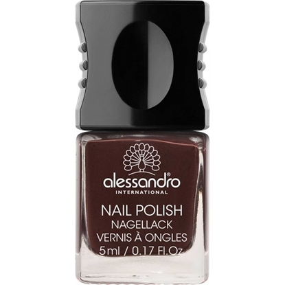 Picture of Alessandro NAIL POLISH BLACK CHERRY  COLOR SMALT 5 ML