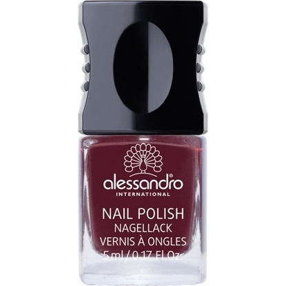 Picture of Alessandro NAIL POLISH ROUGE NOIR COLOR SMALT 5 ML