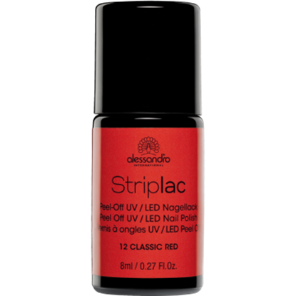 Picture of Alessandro STRIPLAC 12 CLASSIC RED 8 ML