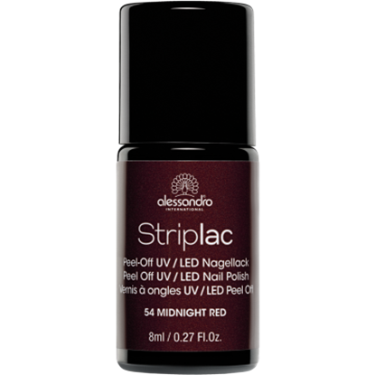 Picture of Alessandro STRIPLAC 54 MIDNIGHT RED 8 ML