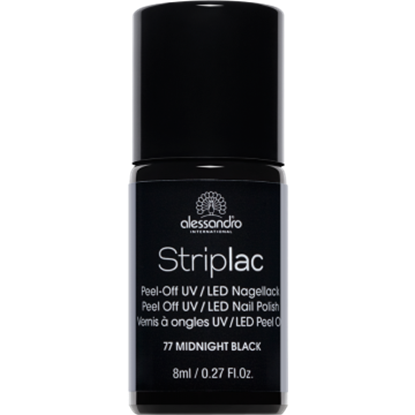 Picture of Alessandro STRIPLAC 77 MIDNIGHT BLACK 8 ML