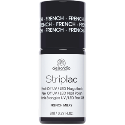 Picture of Alessandro STRIPLAC FRENCH MILKY 8 ML