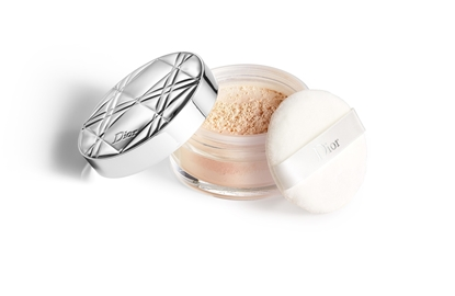 Foto e DIOR Diorskin Nude Air loose powder Healthy Glow Invisible Loose Powder 020 Light Beige