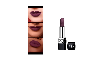 Picture of Christian Dior Rogue Couture Colour Comfort & Wear Lipstick for Women, Poison Matte