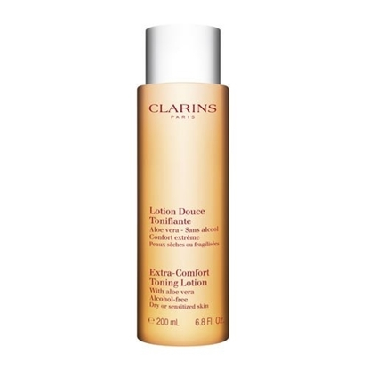 Picture of Clarins 200ml Extra Comfort Toning Lotion with Aloe Vera (Dry/Sensitized Skin)