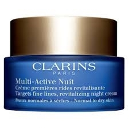 Picture of Clarins Multi-Active Normal To Comfort Skin Night Cream, 1.7 Ounce