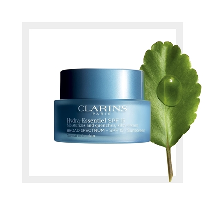Foto e Clarins Hydra-Essentiel, SPF 15 Normal to Dry Skin, Intensive hydrating care, 50ml