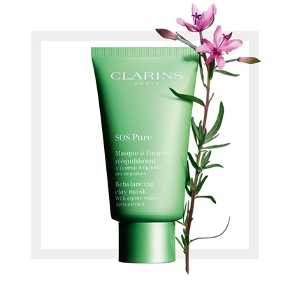 Picture of Clarins SOS Pure Emergency Mask with Rebalancing Clay