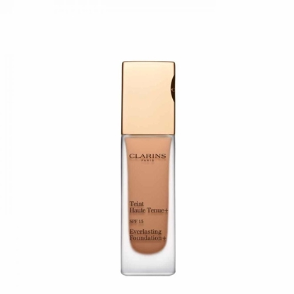 Foto e Clarins Everlasting Foundation+ SPF 15 113 Chestnut 30ml