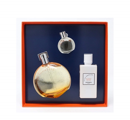 Picture of HERMES EAU MERVEILLES 50ML+7.5ML+BODY LOTION 40ML